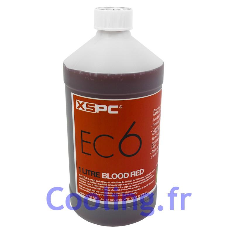 liquide de protection 1 litre ec 6 rouge xspc watercooling. Black Bedroom Furniture Sets. Home Design Ideas